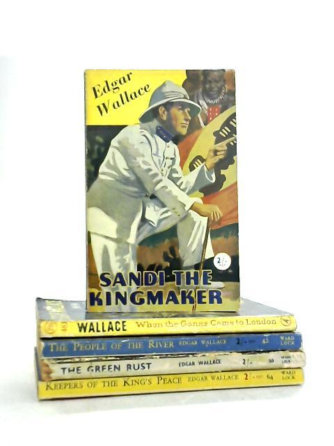 Set of 5 Edgar Wallace Novels by Edgar Wallace