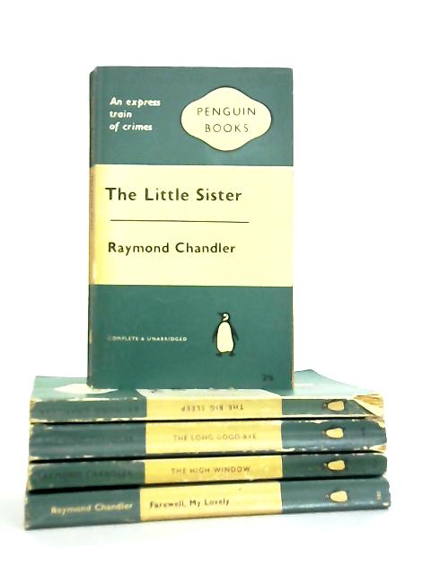 Set of 5 Raymond Chandler Mystery Novels by Raymond Chandler