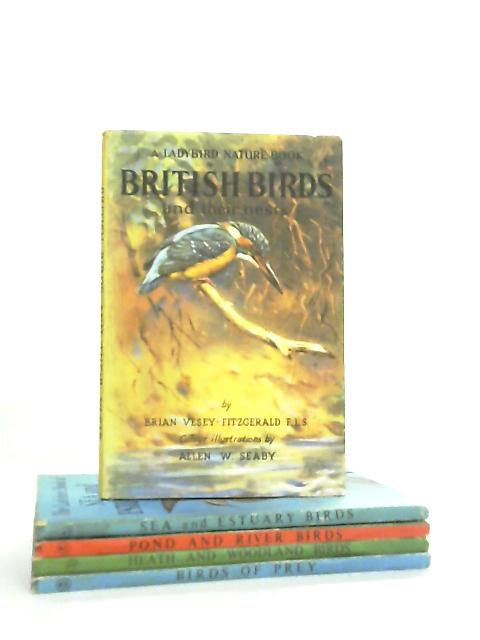 Set of 5 Ladybird books about Birds by Various