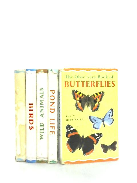 Set of 5 Observer books on Wildlife by Various