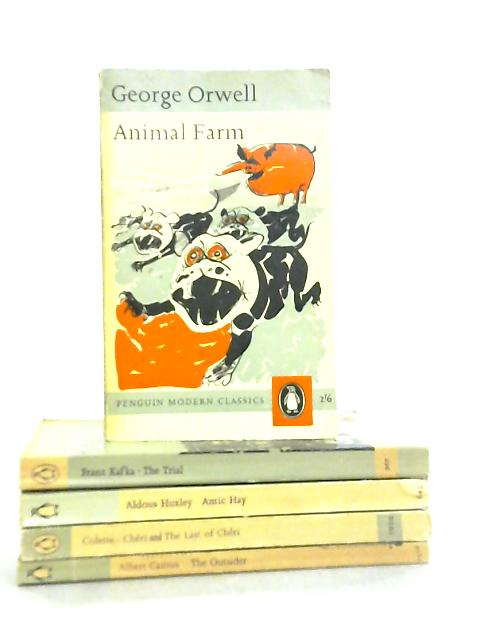 Set of 5 Penguin Modern Classics by Various