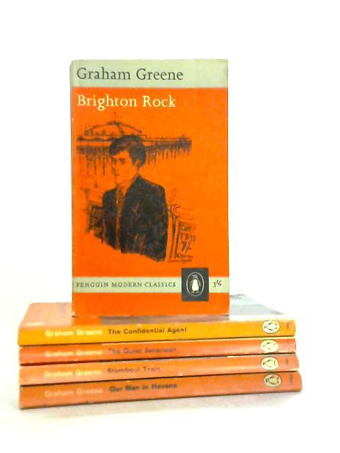 Set of 5 Graham Greene Novels by Grahame Greene