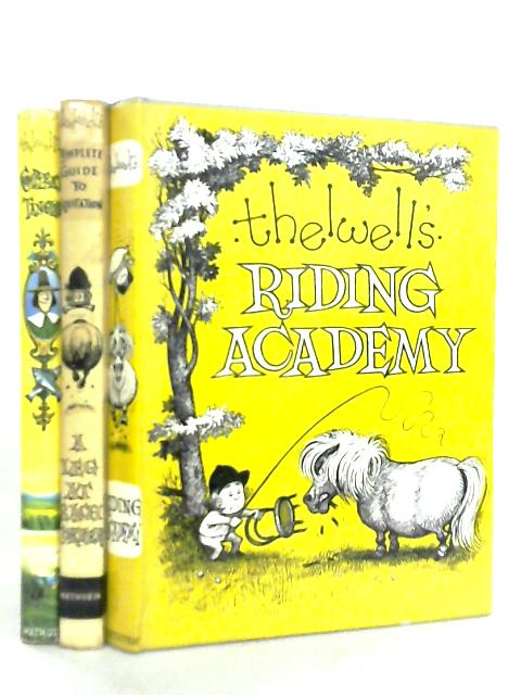 Set of 3 books by Thelwell by Thelwell