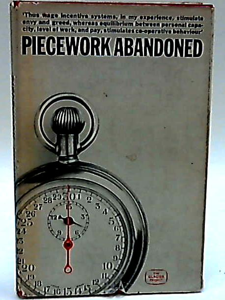 Piecework Abandoned by W. Brown