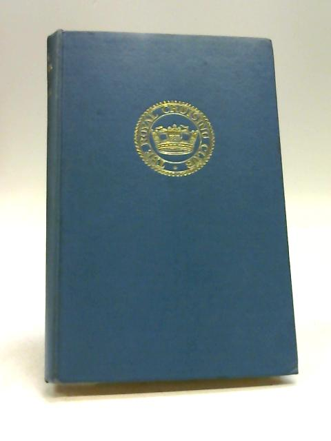 Royal Cruising Club Journal Season 1965 By Alasdair Garrett