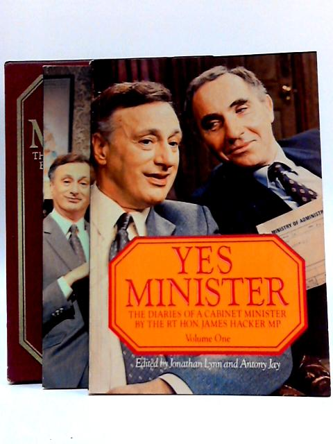 Yes Minister 2 Volume Set By Jonathan Lynn And Antony Jay