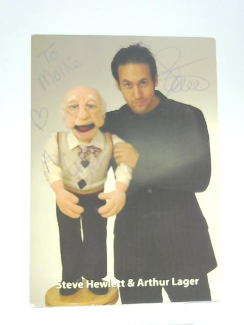 Colour Photographic Print Steve Hewlett & Arthur Lager - Signed By None