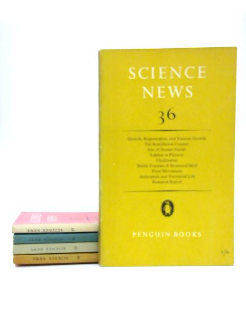 Science News Penguin Paperbacks, Numbers 36 - 40 by Various