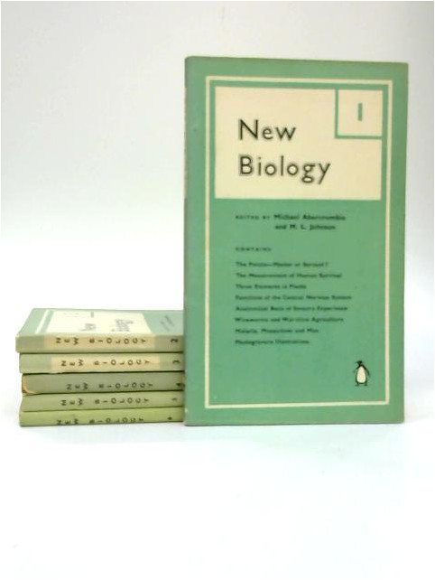 New Biology Penguin Paperbacks, Number 1 - 6 by Michael Abercrombie & M. L. Johnson