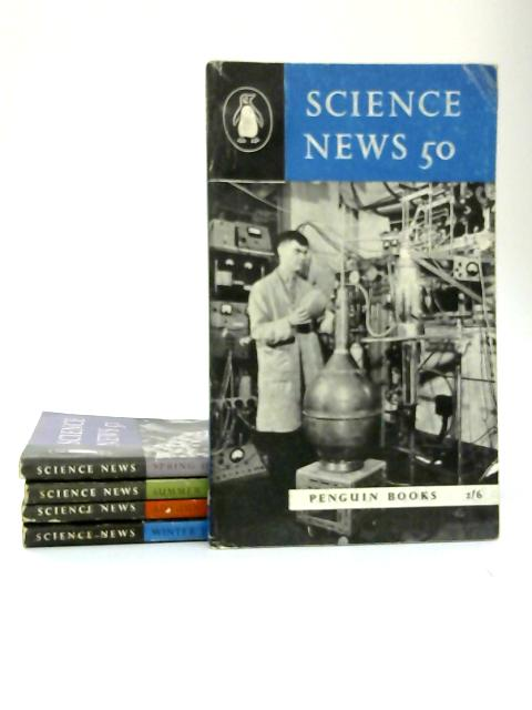 Science News Penguin Paperbacks, Number 50 - 54 by Archie and Nan Clow