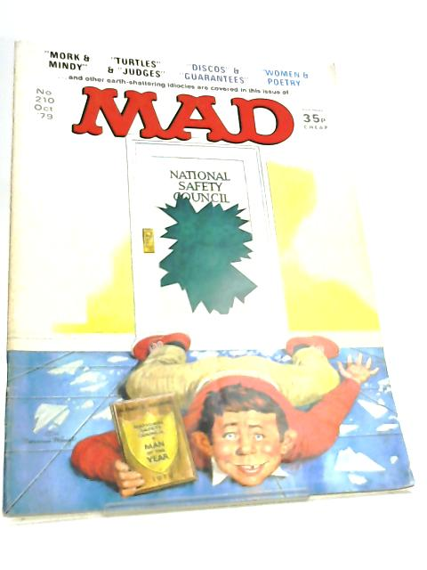 Mad Magazine No 210 October 1979 By Various