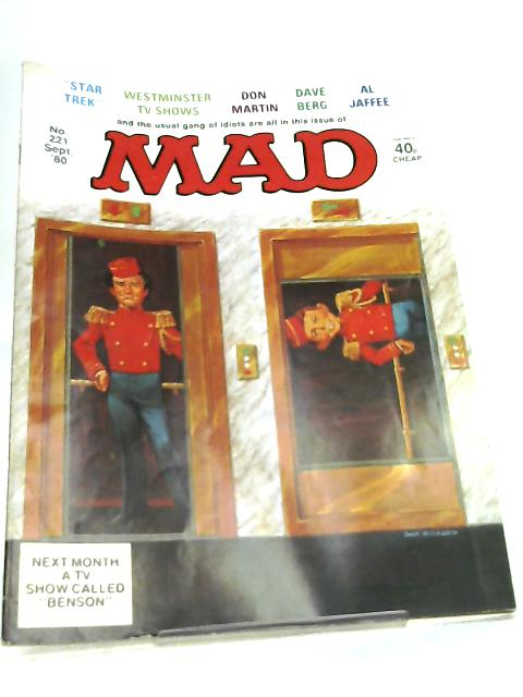 Mad Magazine No 221 September 1980 By Various