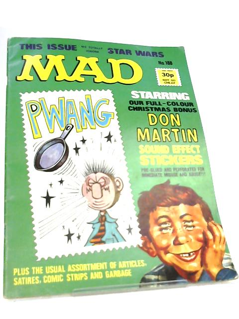 Mad Magzine No 188 By Various