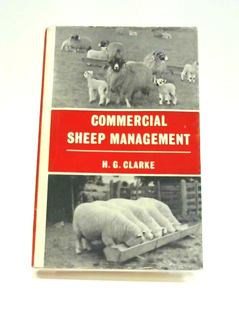 Commercial Sheep Management By Henry George Clarke