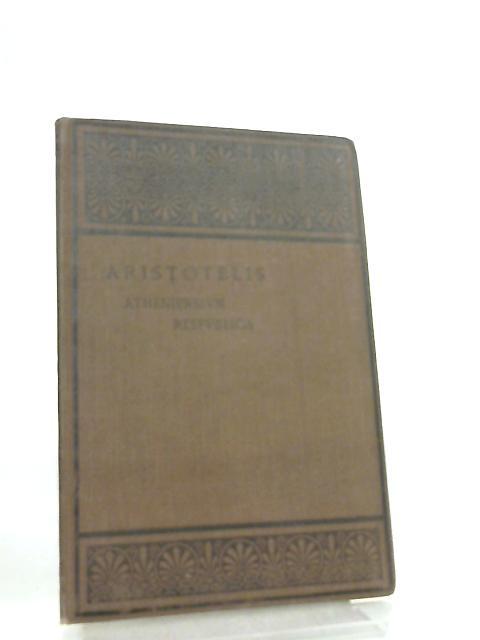 Aristotelis Atheniensium Respublica by Aristotle