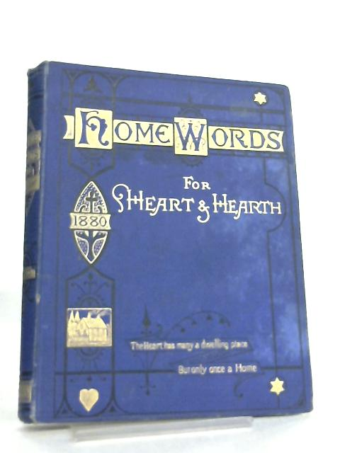 Home Words for Heart and Hearth 1880 By Rev. Charles Bullock