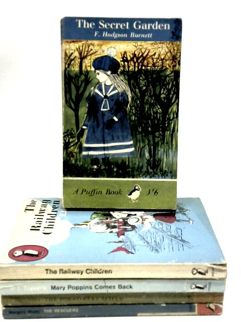 Set of 5 Vintage Classic Children's Novels by Various
