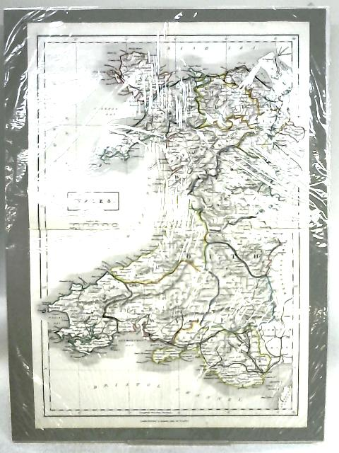Hand Coloured Map of Wales By Anon