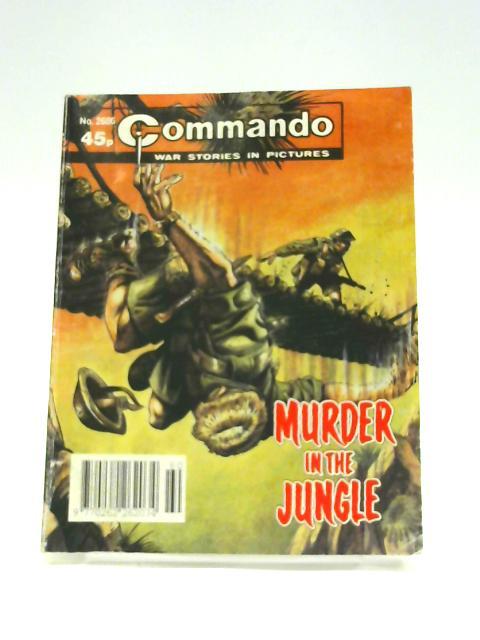 Commando No. 2686: Murder in the Jungle By Unknown