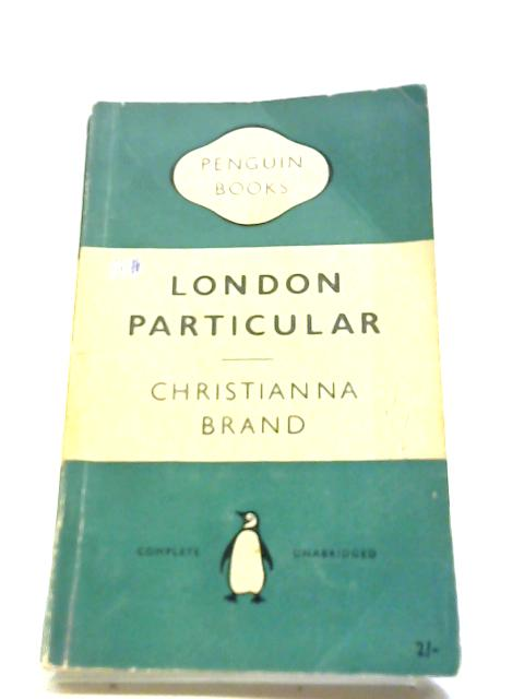 London particular by Brand, Christianna