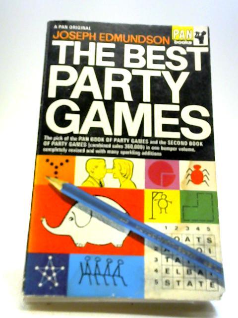 The Best Party Games (Pan Originals) By Edmundson, Joseph