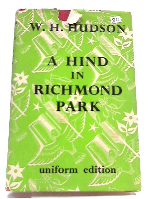 A Hind In Richmond Park by W Hudson