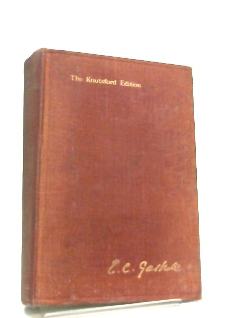 The Works of Mrs. Gaskell, My Lady Ludlow and Other Tales Vol 5 By A. W. Ward