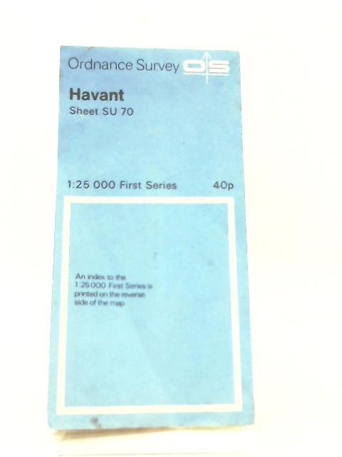 Ordnance Survey Sheet SU70 Havant by Anon