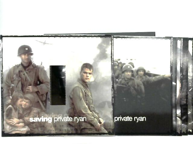 Saving Private Ryan Film Cell & 6 Film Photo Prints By Anon