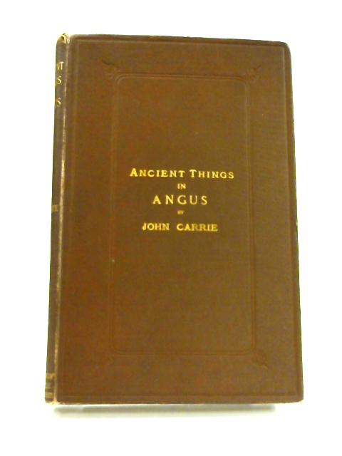 Ancient Things in Angus by John Carrie