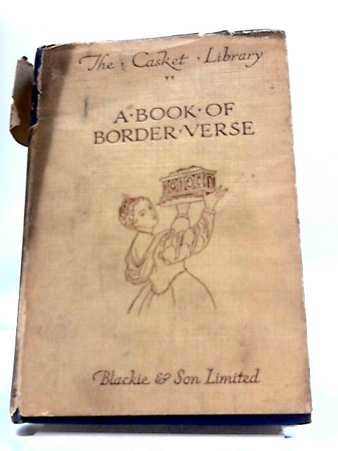 A Book Of Border Verse. By George Burnett