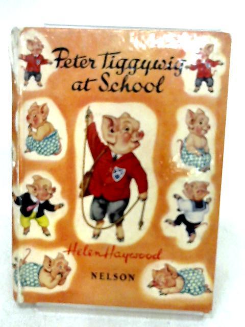 Peter Tiggywig at school by Haywood, Helen