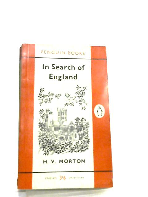 In Search of England by H. V. Morton