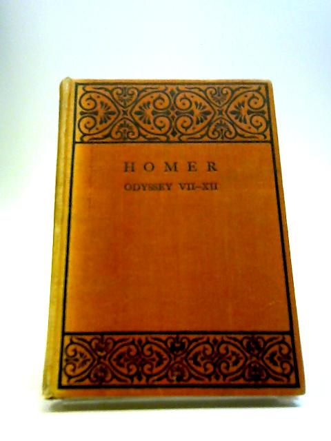 Odyssey, Books VII-XII by Homer