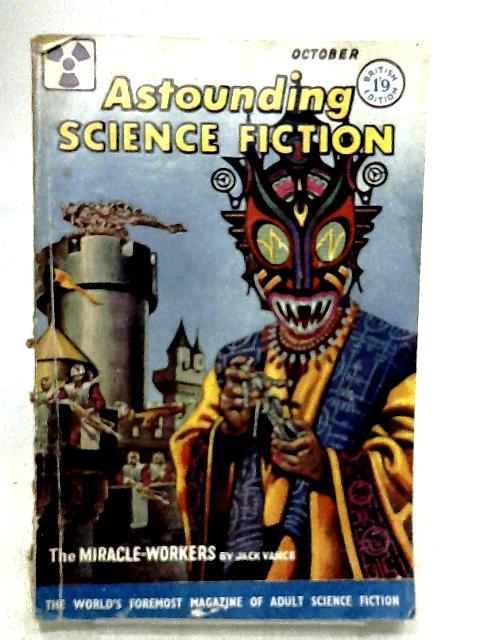 Astounding Science Fiction: British edition, vol.XIV, no.10, October 1958 by VANCE, Jack and others
