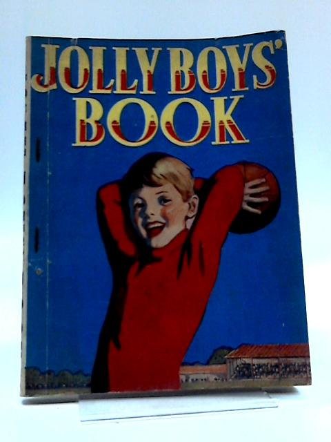 Jolly Boys' Book By Unknown