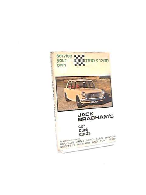 Jack Brabham's Car Care Cards: Ford Anglia by Douglas Armstrong