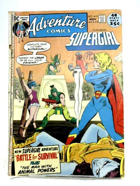 Adventure Comics, No. 412, November 1971 by Unknown