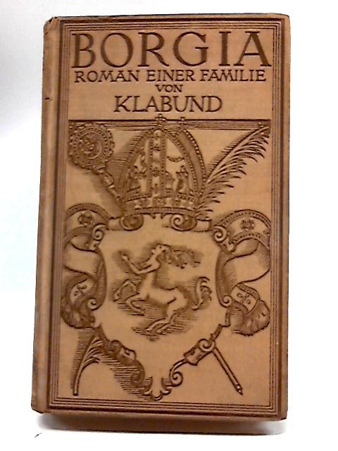Roman Einer Familie by Klabund