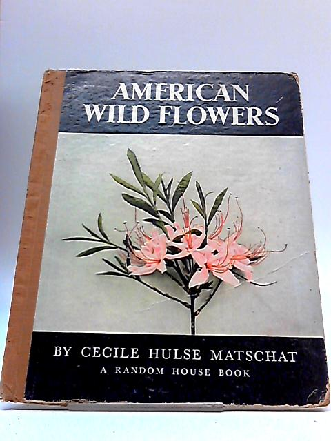 American Wild Flowers by Cecile Hulse Matschat