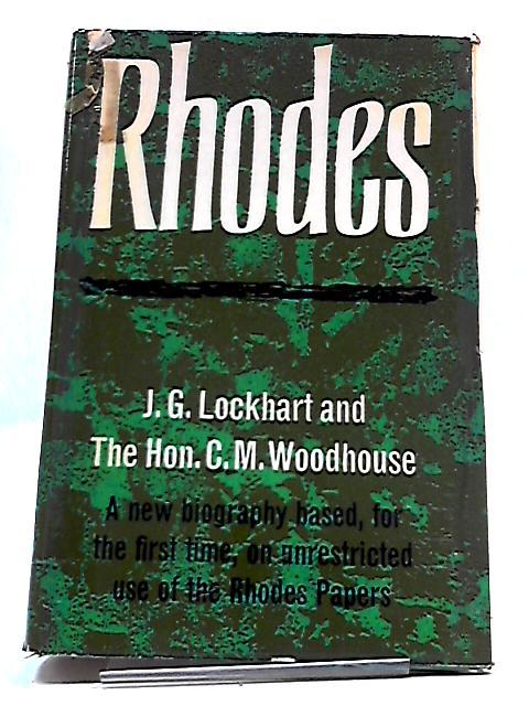 Rhodes by J. G. & C. M. Woodhouse Lockhart