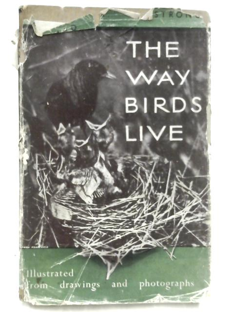 The Way Birds Live by Edward A. Armstrong