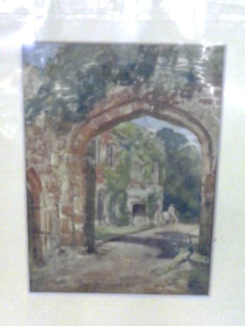 Astley Castle - Watercolour Art Print By Anon