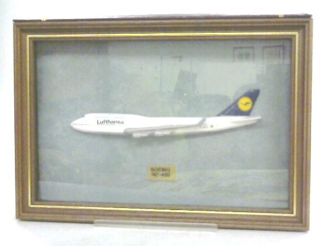 Boeing 747-400 Half Framed Model by Anon