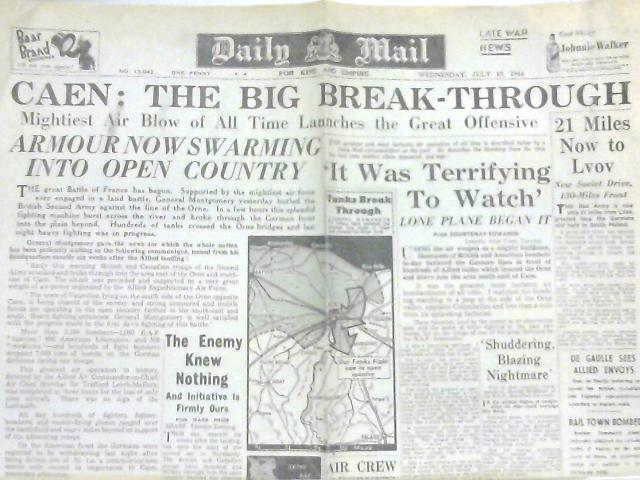 Daily Mail No 15.042, Wednesday July 19, 1944 by Various