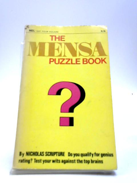The Mensa puzzle book (Four Square books) by Scripture, Nicholas Edward