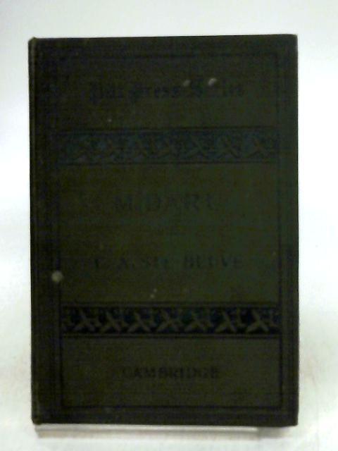 M. Daru Par M. C. A. Sainte-beuve Vol IX) by Gustave Masson