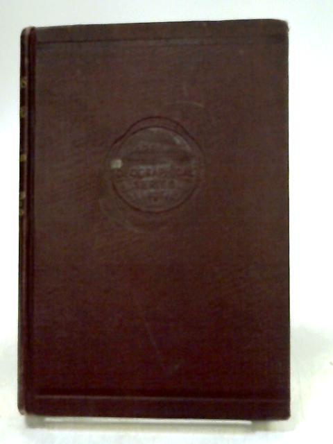 The Peoples of the Wold volume III by E.J.G Bradford