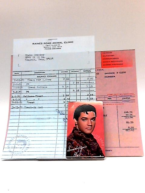 Reproduction Elvis Documents by Replica from the Elvis Graceland Archives