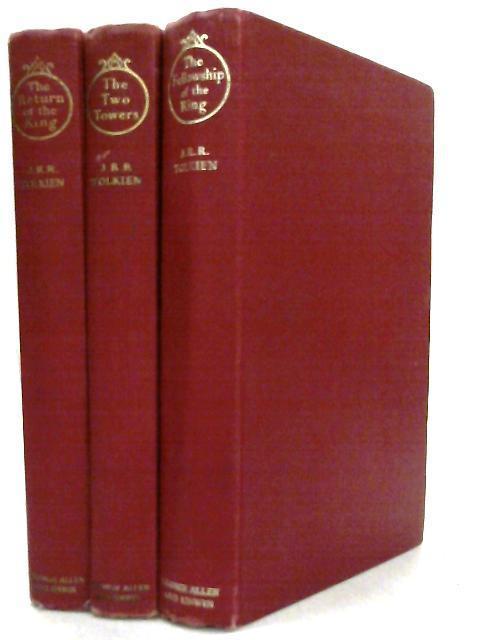 Lord of the Rings Trilogy Set of Three Volumes by J. R. R. Tolkein
